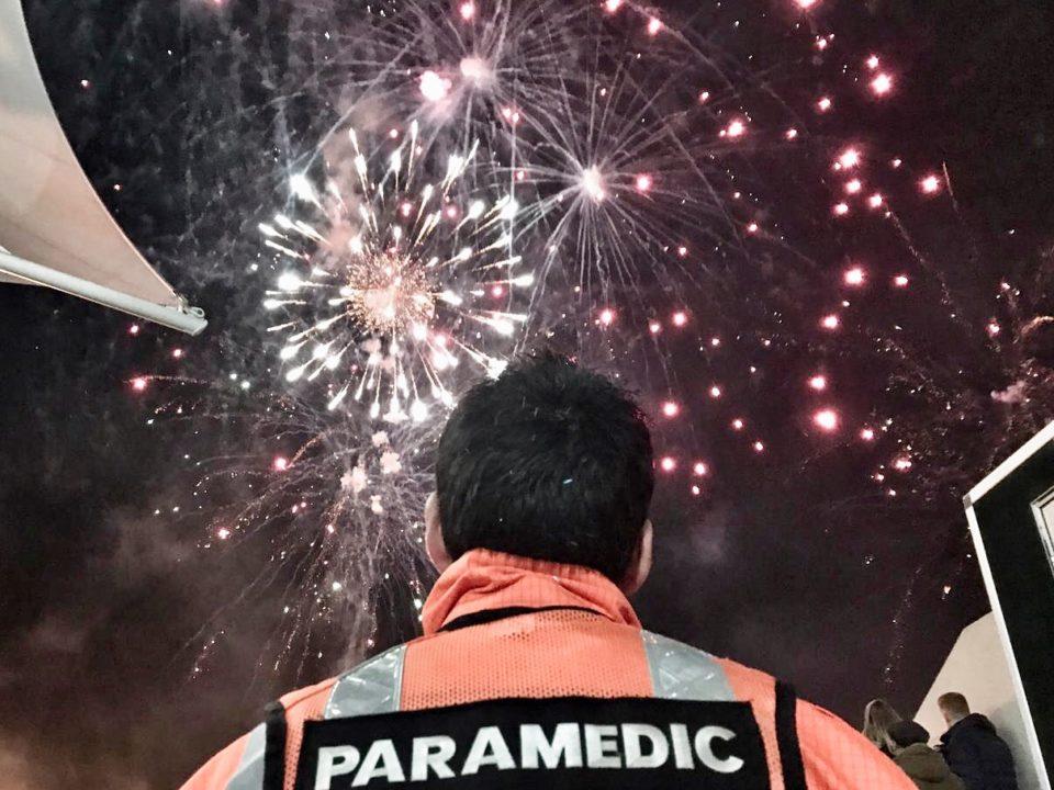 Charity Fireworks display in aid of GWAAC