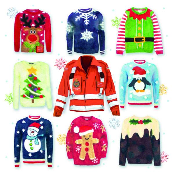 GWAAC Christmas Jumper Christmas Cards