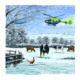 GWAAC Snowy Scene Christmas Cards