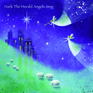 Hark the Herald Angels Sing Christmas Cards