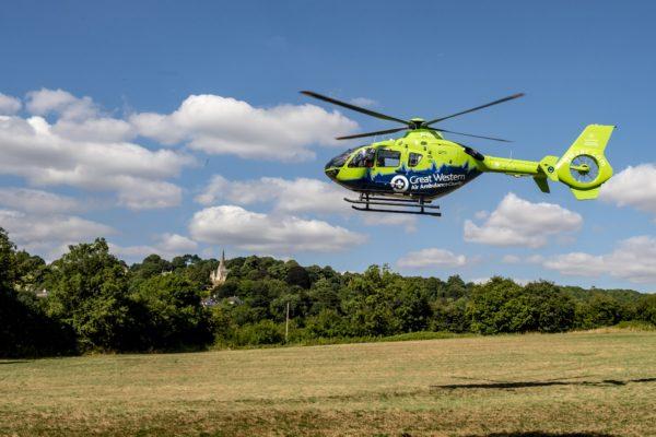 National Air Ambulance Week – Golden Hour, Give an Hour
