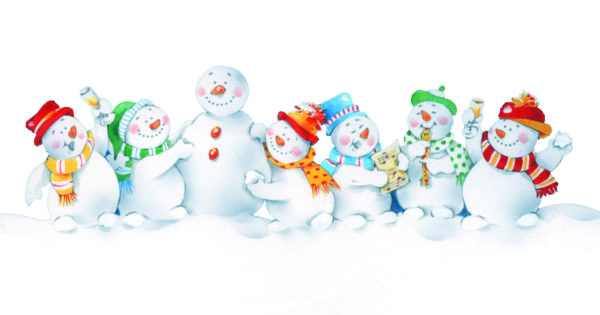 Jolly Snowman Christmas cards