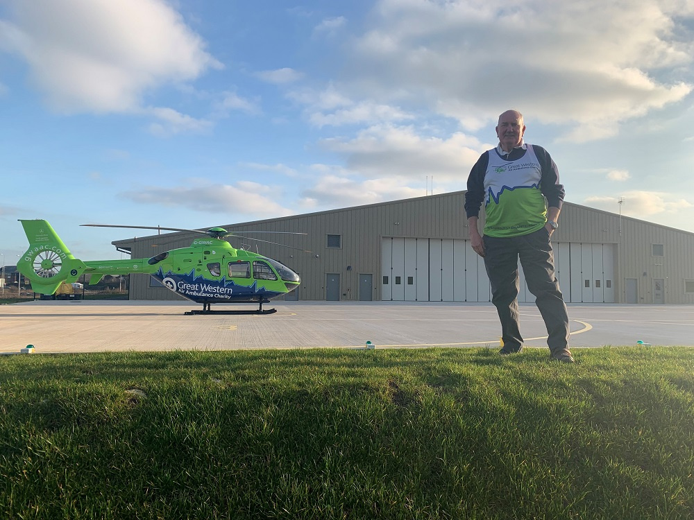 Norman at GWAAC air base 2