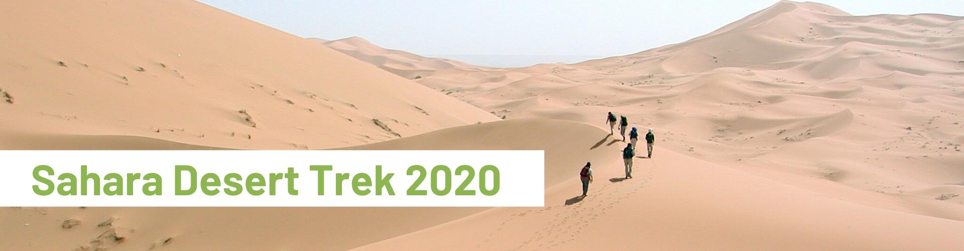 Sahara Desert Trek 2020