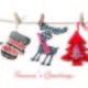 Season's Greetings Christmas Cards