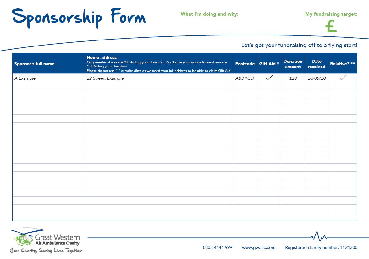 Sponsorship form web image