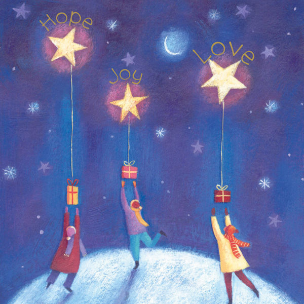 Wishing on a star Christmas cards