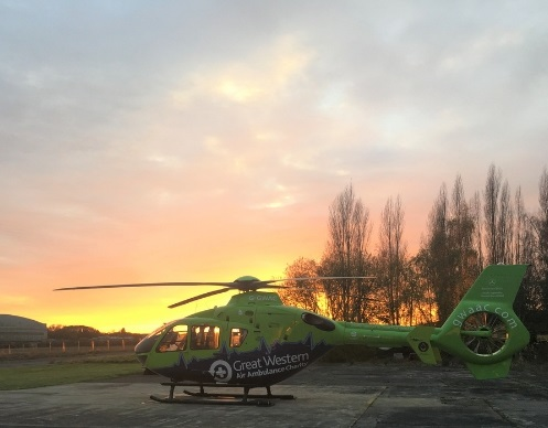 GWAAC sunset
