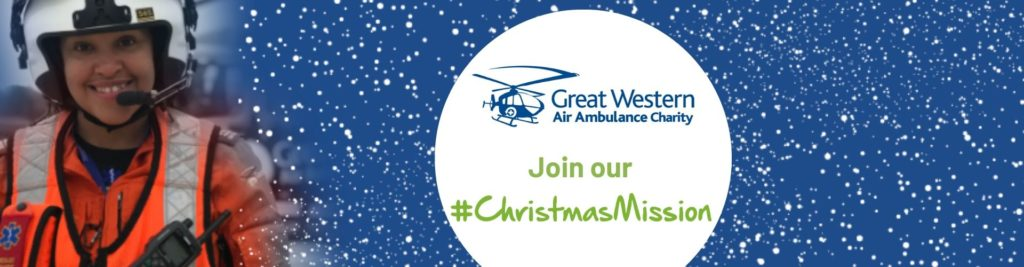 Great Western Air ambulance Charity Christmas Mission
